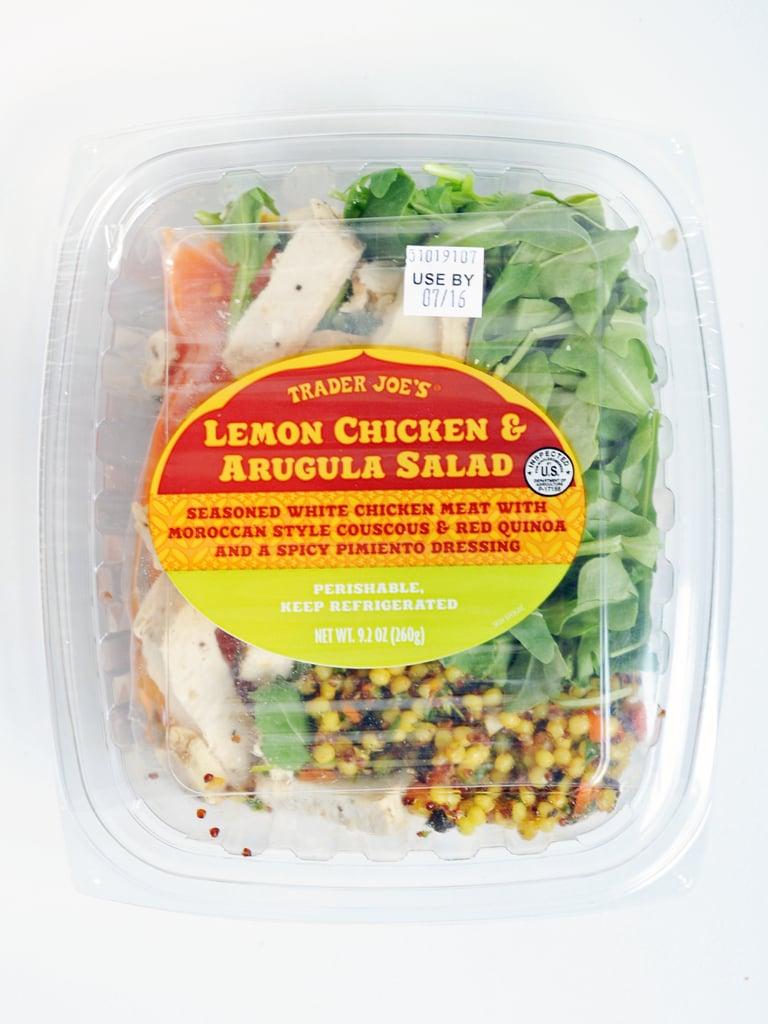 Lemon Chicken And Arugula Salad 4 The Best Trader Joe