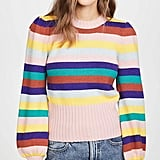 Rachel Antonoff Bridget Puff-Sleeve Sweater