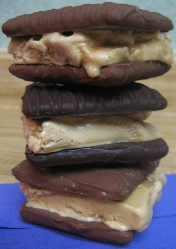 Of Sandwiches: Dulce De Leche Ice Cream & Choco Covered Graham Cracker ...