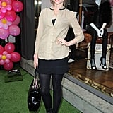 Sophie Ellis Bextor layered up as she partied at Juicy Couture.