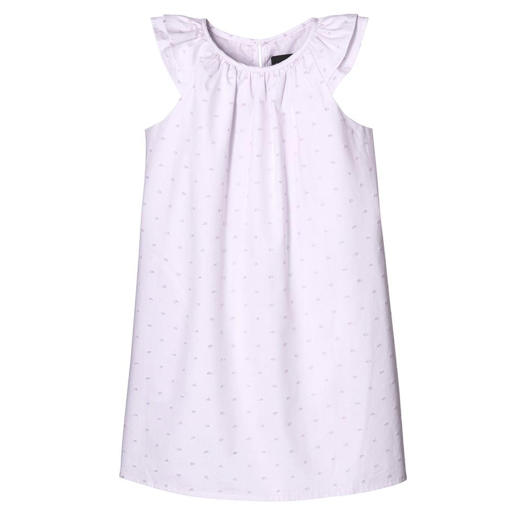 Toddler Girls' Lilac Cap Sleeve Peasant Dress ($20)