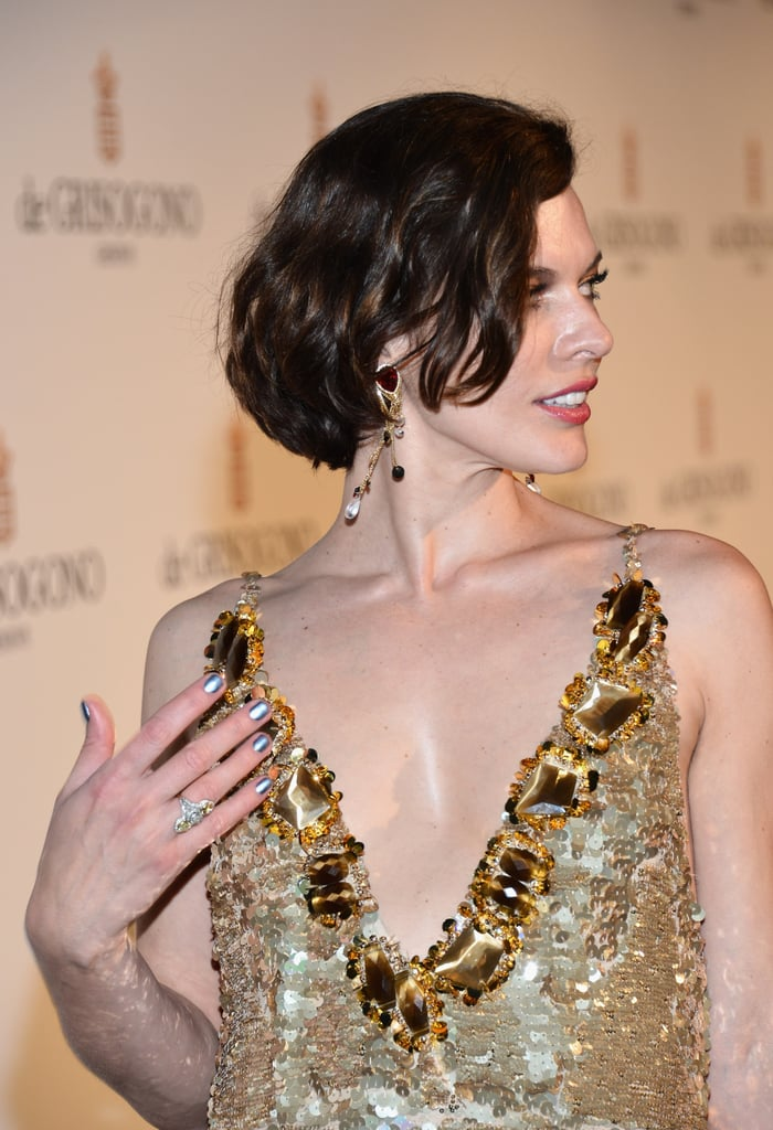 How gorgeous is the detailing on Milla's gown?