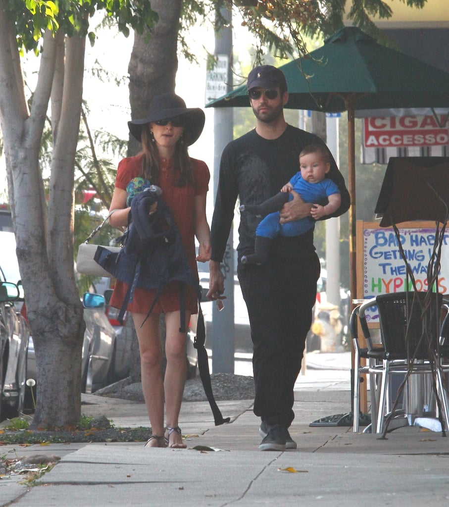 Natalie Portman and her fiancé Benjamin Millepied took their son Aleph out to browse an LA farmers market on Friday. The family of three picked up fresh veggies as well as a truck full of gardening supplies! Natalie, Benjamin, and Aleph are hanging out together on the West Coast and enjoying a low-key few months together. At this time last year, Natalie's life was quite different. In 2011, she was just beginning a whirlwind award season that culminated in her Academy Award win for Black Swan.  She's taken the last year off to focus on Aleph, but rumors suggest Natalie might be eyeing her first post-Oscars movie. V For Vendetta producers Lana and Andy Wachowski want Natalie to star in Jupiter Ascending, a sci-fi picture. They have yet to sign a deal on that, but Natalie can still be seen in other mediums. Both Black Swan stars Natalie and Mila Kunis are in Dior ads! Mila models the Miss Dior handbag, while Natalie's the face of their Cherie fragrance.