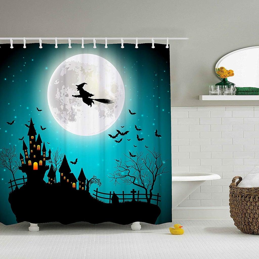 Vintage Halloween Shower Curtain