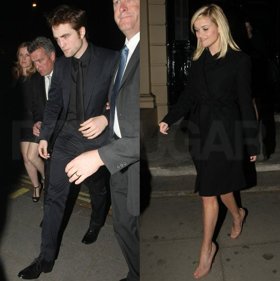 Robert Pattinson and Reese Witherspoon Water For Elephants Afterparty