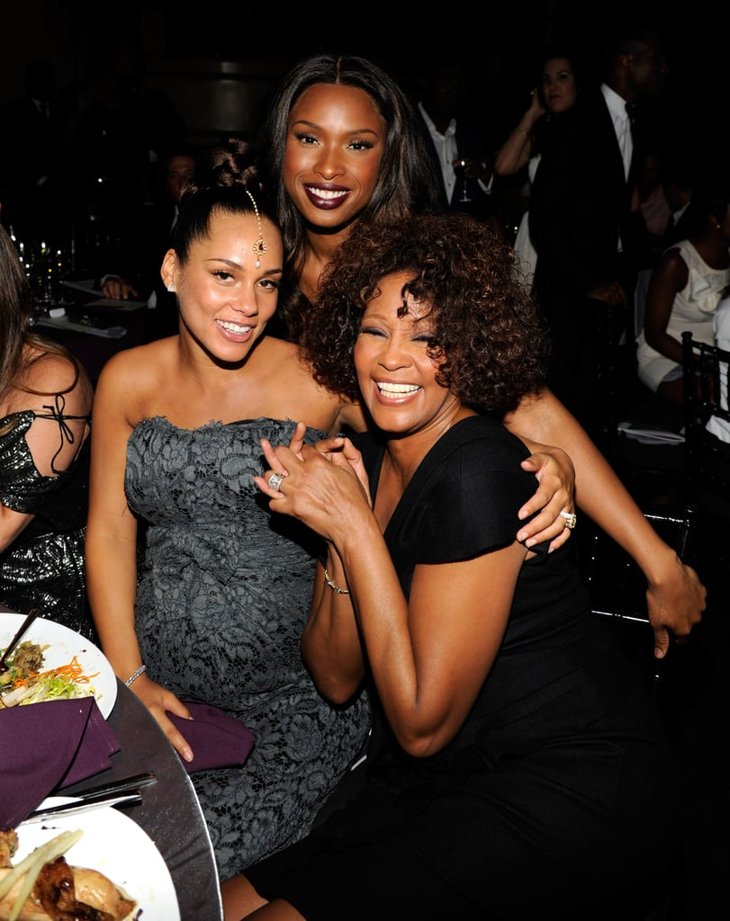 Alicia Keys, Jennifer Hudson and Whitney Houston attended Keep A Child Alive's Black Ball in 2010 in NYC.