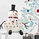 3D Merry and Bright Snowman Advent Calendar
