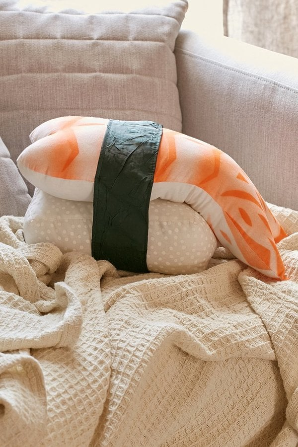 Urban Outfitters Shrimp Plush Pillow