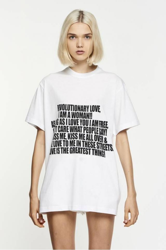Juan Vidal's Sabine Tee ($111) says all the things we want to scream at the top of our lungs in just one quick blurb. Lounge around in this shirt at home or rock it under your oversize denim coat.
