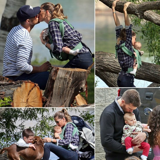 Tom and Gisele Sneak Kisses During a Family-Filled Weekend