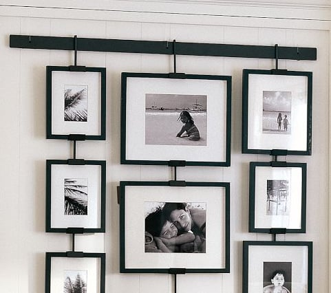 hanging frames 12 ways to organize and arrange your photos popsugar smart living photo 11