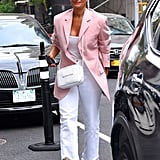 Tracee First Wore Her Céline Boots While Out in NYC in May 2018