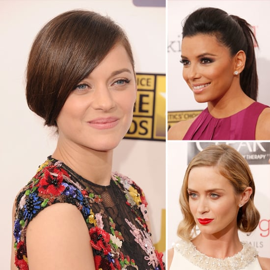 Celebrity Hair and Makeup at the Critics' Choice Awards