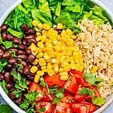 Black Bean Burrito Bowl Salad