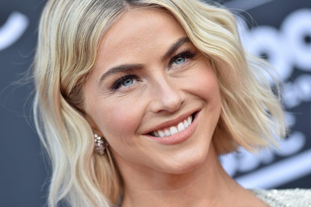 Julianne Hough Blunt Bob 2019 Popsugar Beauty