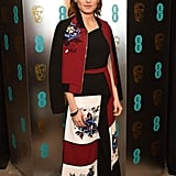 Daisy Ridley's BAFTA Dress Came With a Matching Bomber Jacket