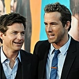 Jason Bateman and Ryan Reynolds at The Change-Up premiere.