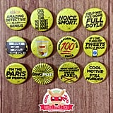 Brooklyn Nine-Nine Inspired Pinback Buttons