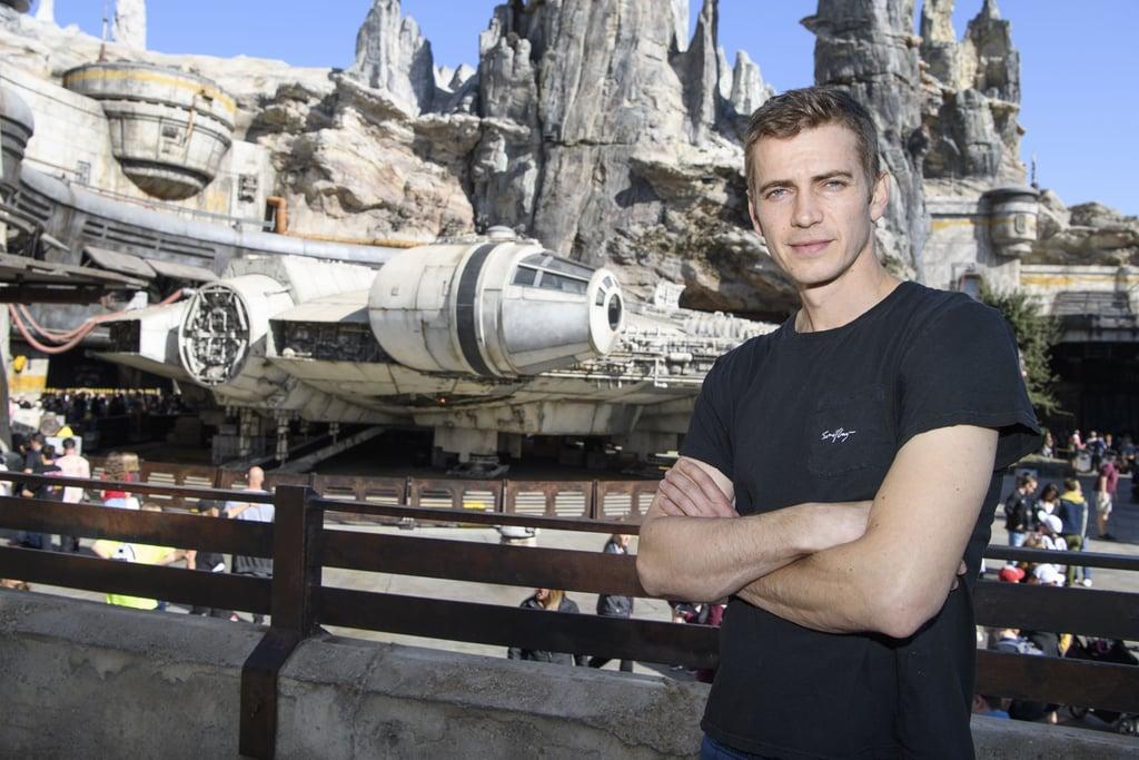 Hayden Christensen as Anakin Skywalker/Darth Vader