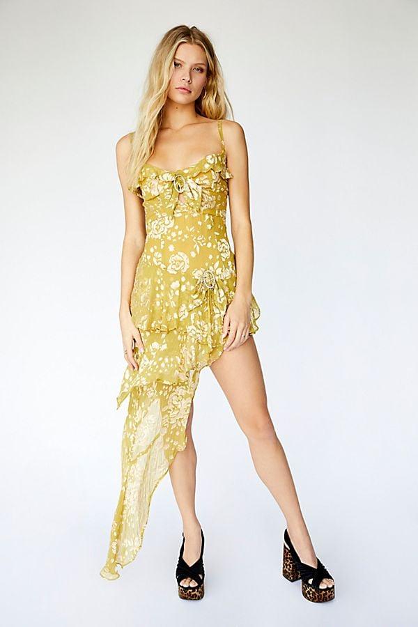 fb295f0647ec For Love and Lemons Cosmo Asymmetrical Dress
