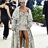 A Full Look at Rihanna's Met Gala Outfit
