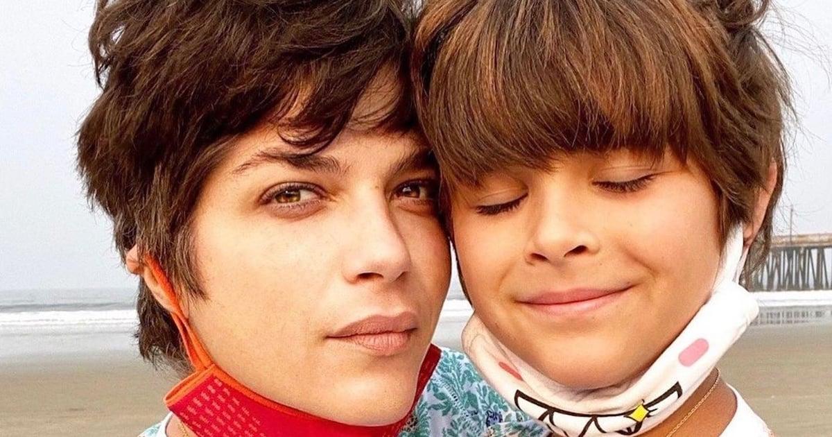 Even When the Going Gets Tough, Selma Blair's Son, Arthur, Has His Mom's Back