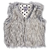 Pumpkin Patch Faux Fur Vest ($34.95)