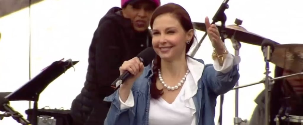 Ashley Judd's Women's March Speech Will Move You to Be Nasty