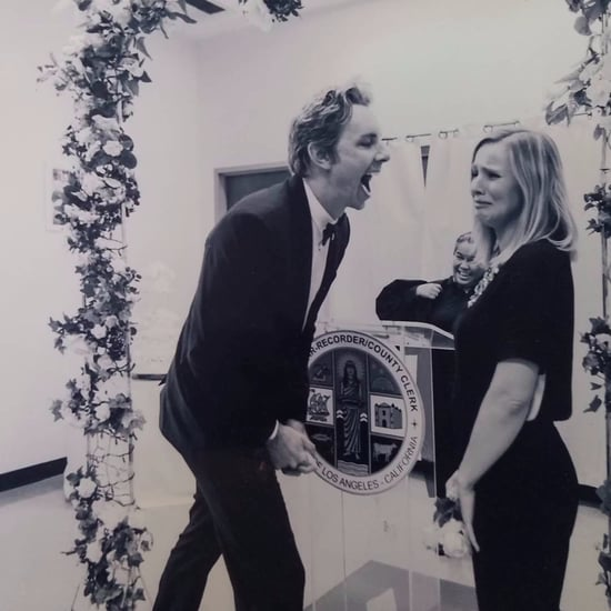 Kristen Bell and Dax Shepard Wedding Picture January 2017