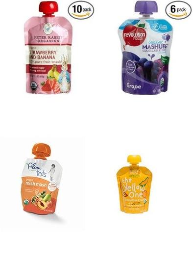 Fruit Puree Pouches