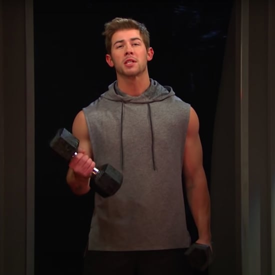 Watch SNL's Mirror Workout Skit With Nick Jonas | Video