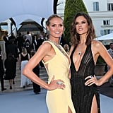 Heidi Klum and Alessandra Ambrosio