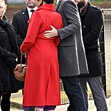 Prince Harry and Meghan Markle PDA Pictures