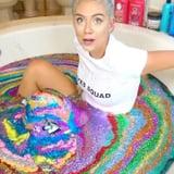 Vlogger Bathes in 50 Bottles of Unicorn Glitter, Lives Her Best Life