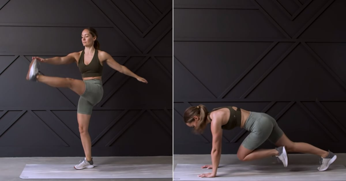 This 35-Minute Fat-Burning HIIT Cardio Routine Has 4 Rounds of Full-Out Bodyweight Work