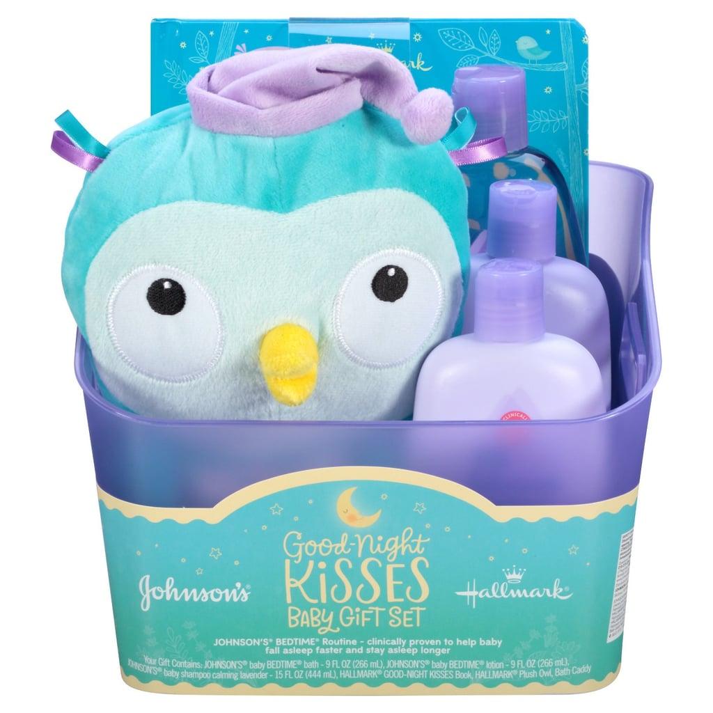 6cf03ac40d24 Johnson Johnson s Good Night Kisses Baby Gift Set