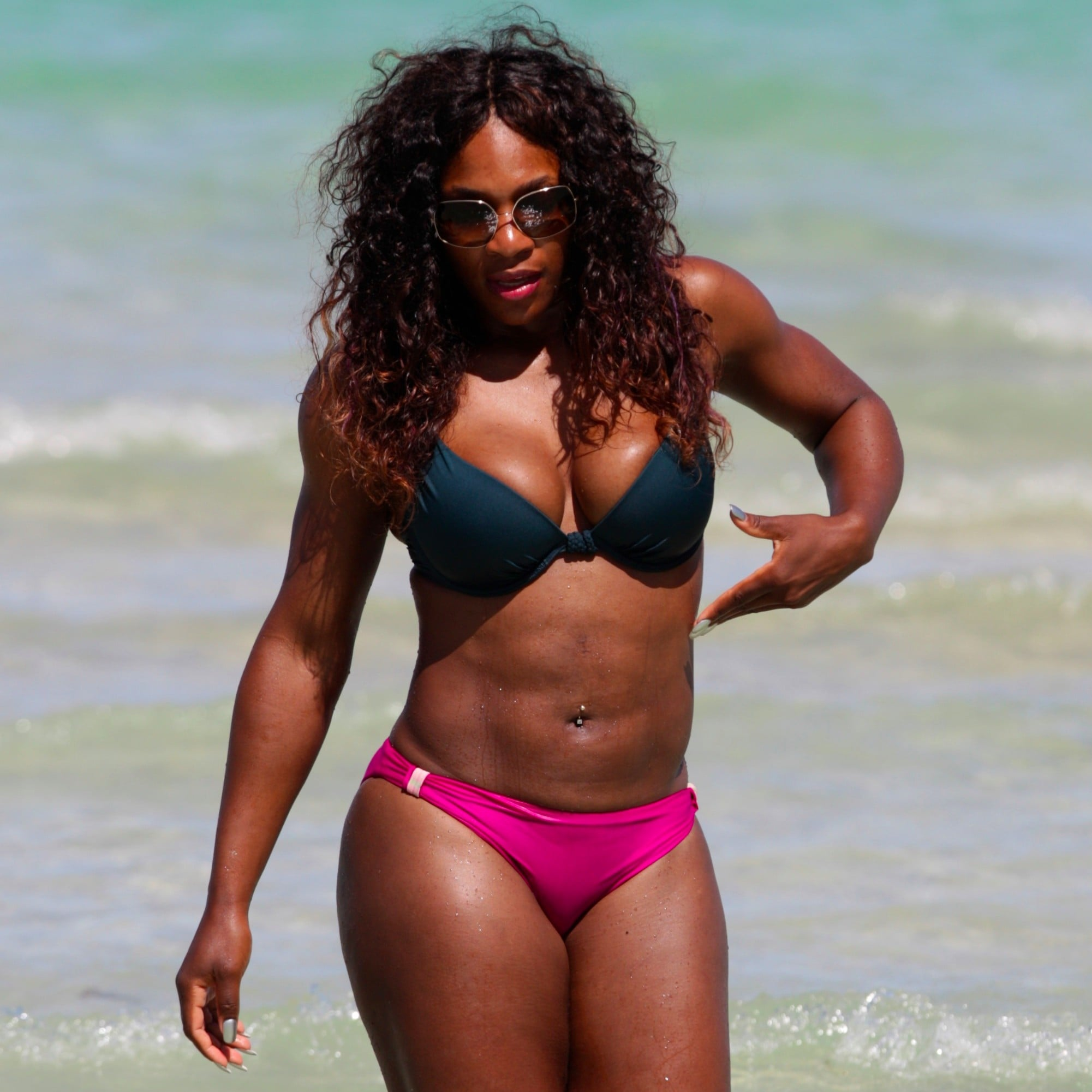 Serena Williams Bikini Ass