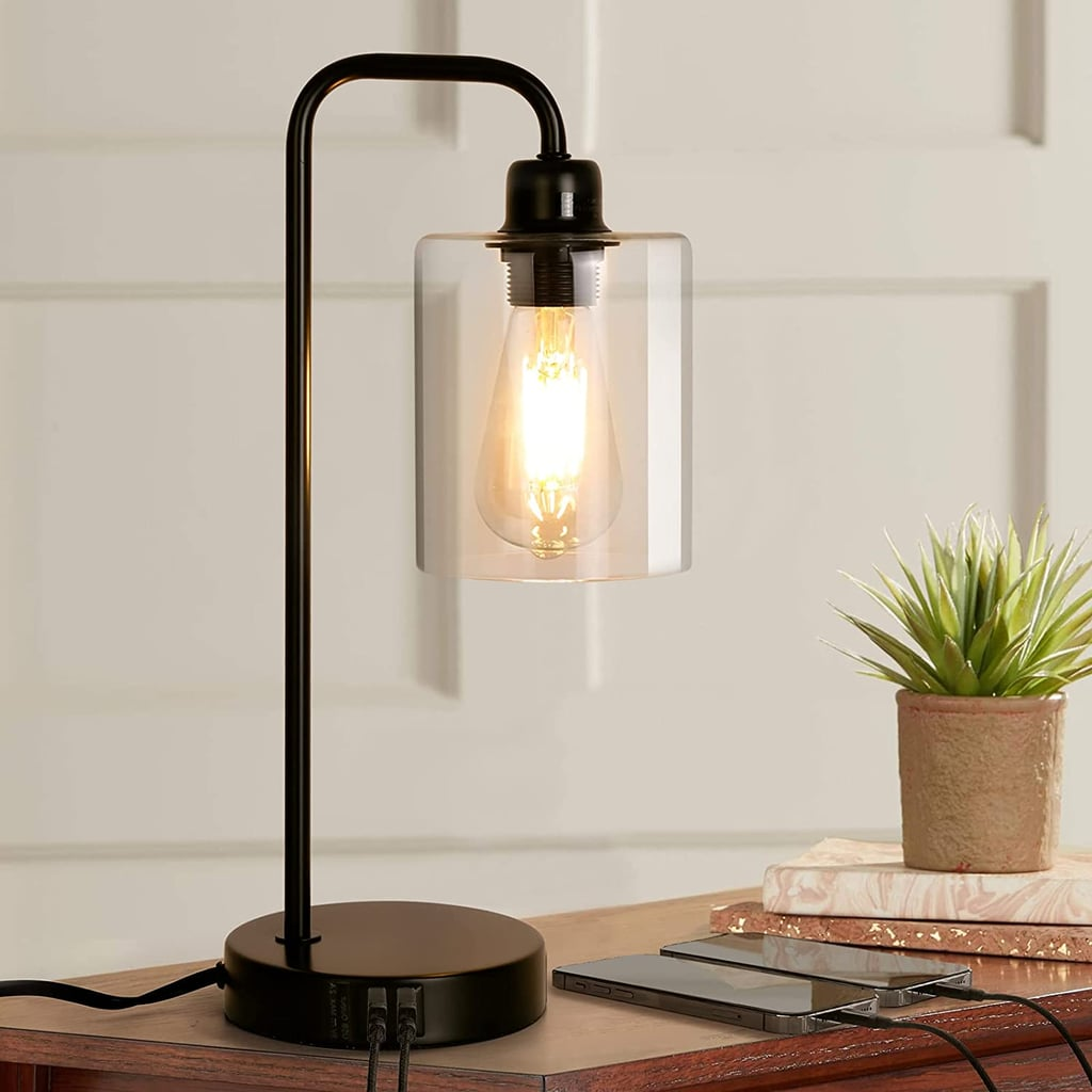 A Stylish Industrial Table Lamp: Albrillo Industrial Table Lamp