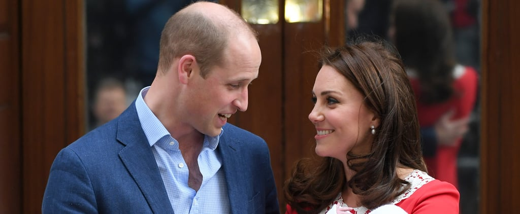 Prince William Jokes About Third Royal Baby Name April 2018