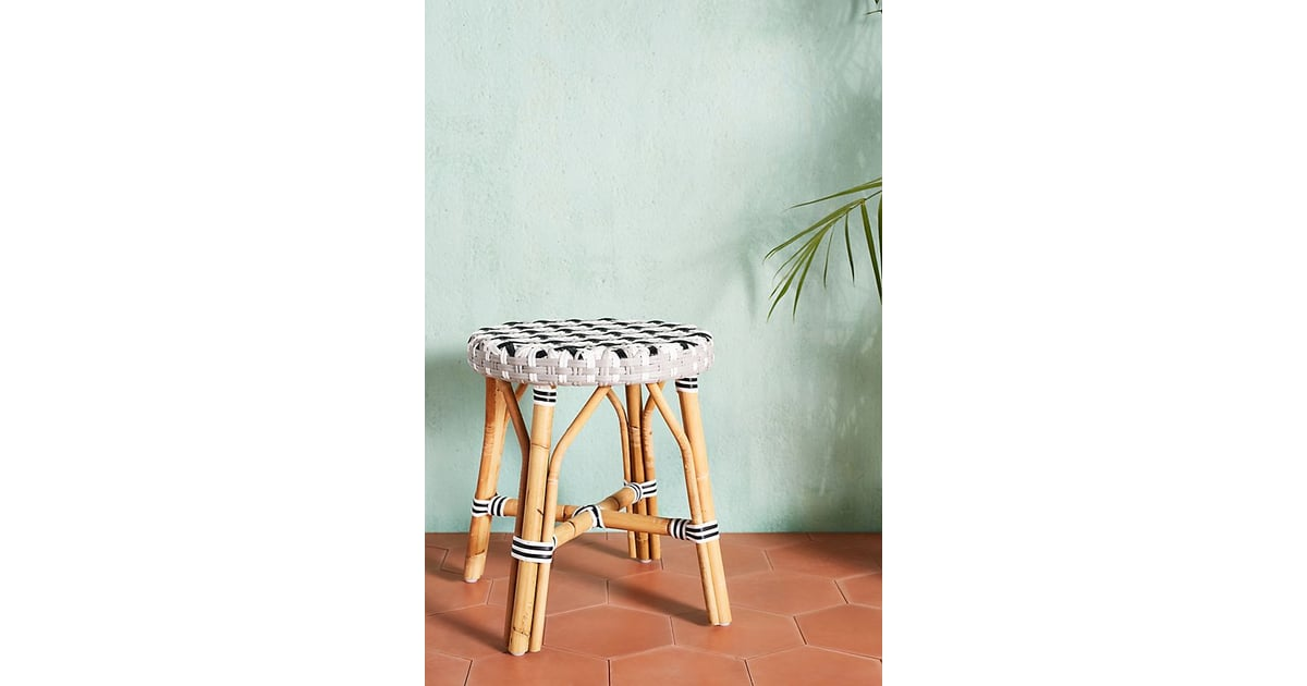 Woven Dining Stool Anthropologie Outdoor Summer