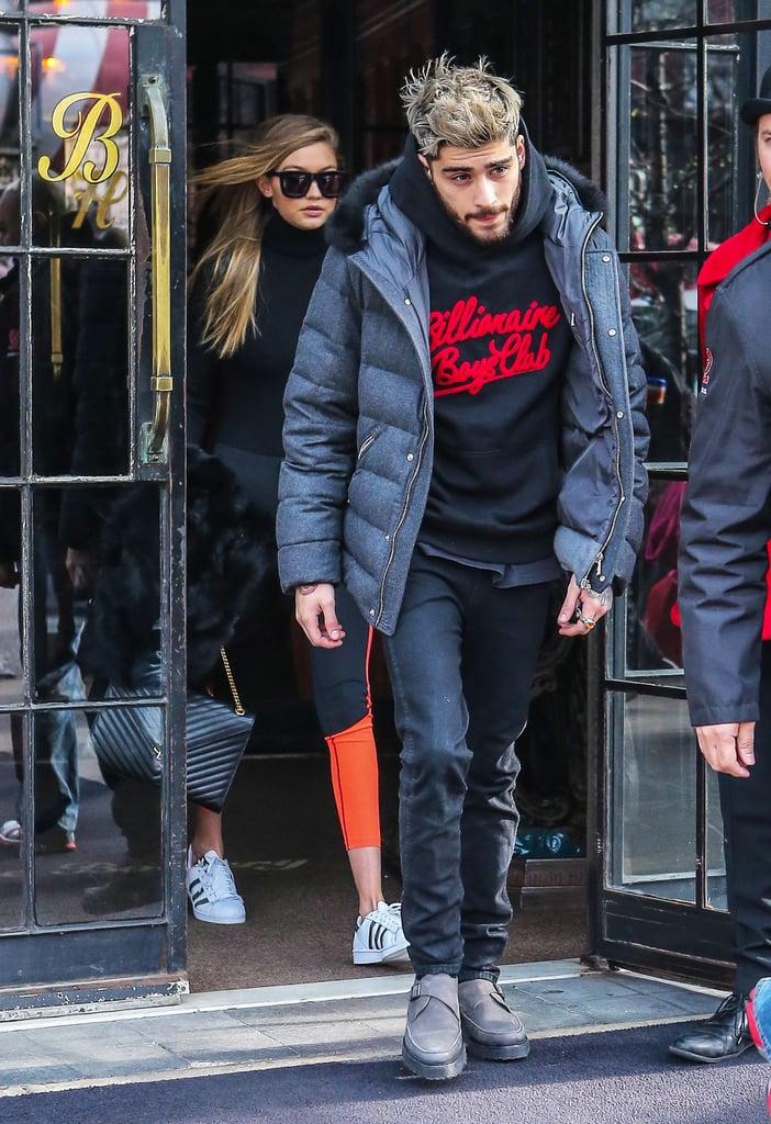 Zayn Malik and Gigi Hadid Out in NYC January 2016