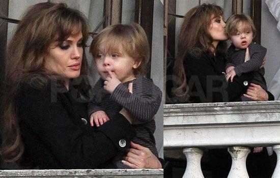 Photos of Angelina Jolie And Knox Jolie-Pitt