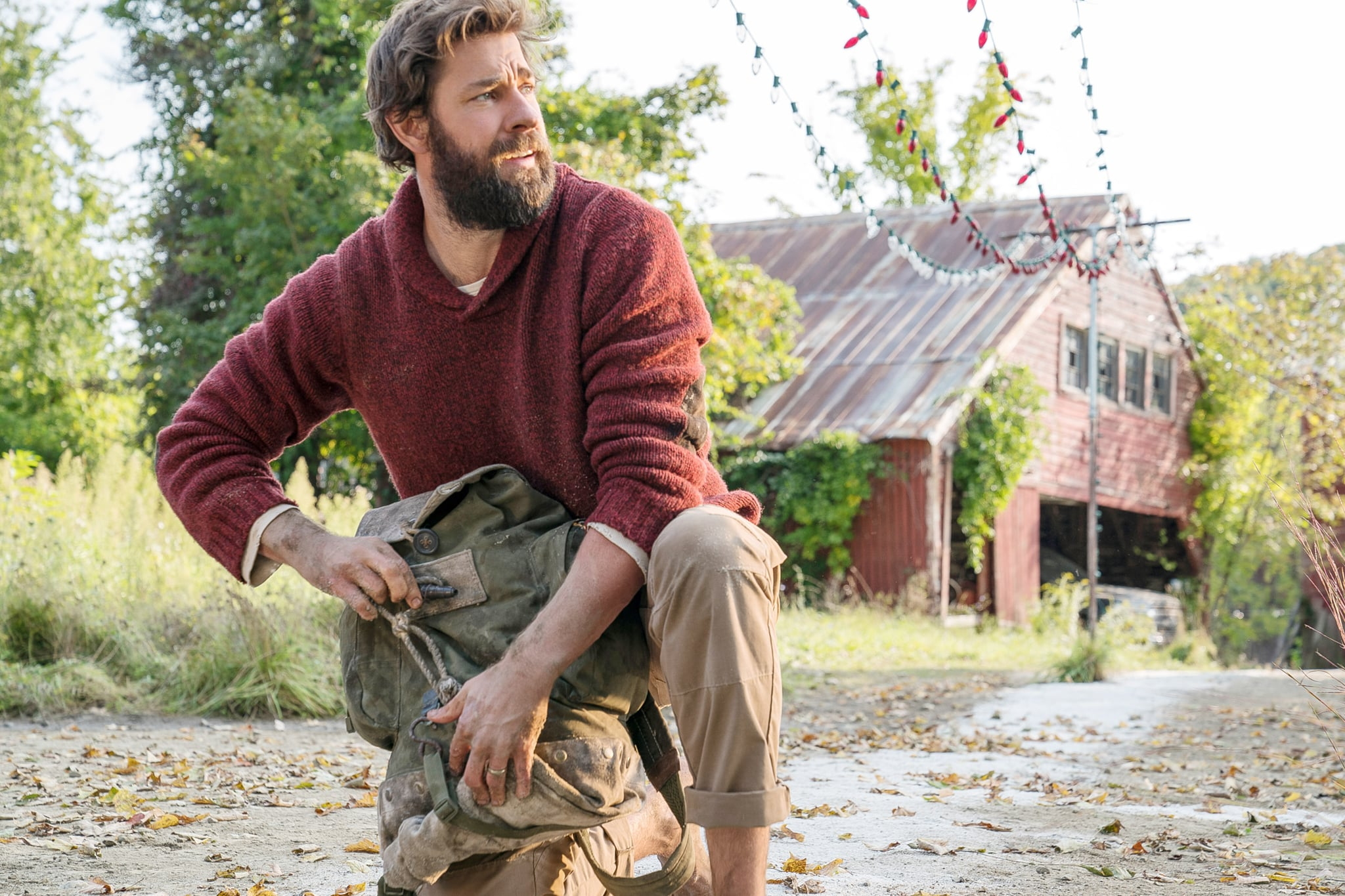 A QUIET PLACE, John Krasinski, 2018. ph: Jonny Cournoyer /  Paramount /Courtesy Everett Collection
