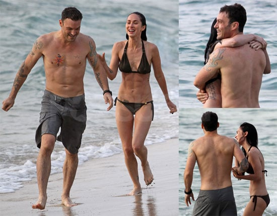 Megan Fox Bikini Pictures in Hawaii with Brian Austin Green