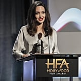 November: Angelina Received a Special Honor at the Hollywood Film Awards