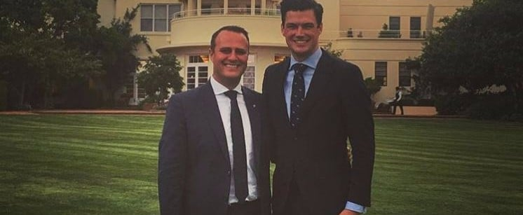 Watch Liberal MP Tim Wilson Propose to His Boyfriend in the House of Representatives, It's the Best