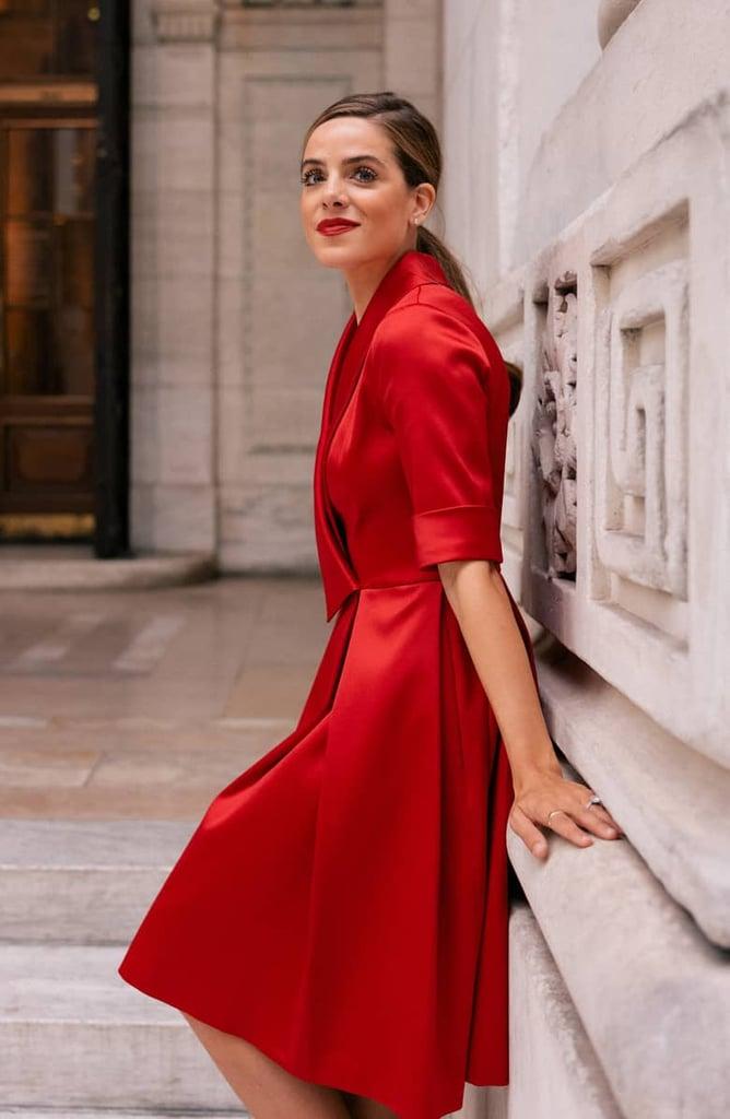 5c05b796b Gal Meets Glam Collection Ruby Royal Satin Asymmetrical Collar Dress ...