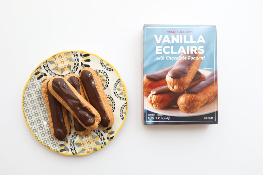 Vanilla Eclairs With Chocolate Fondant ($3)