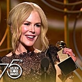 Nicole Kidman: 2018 Golden Globes