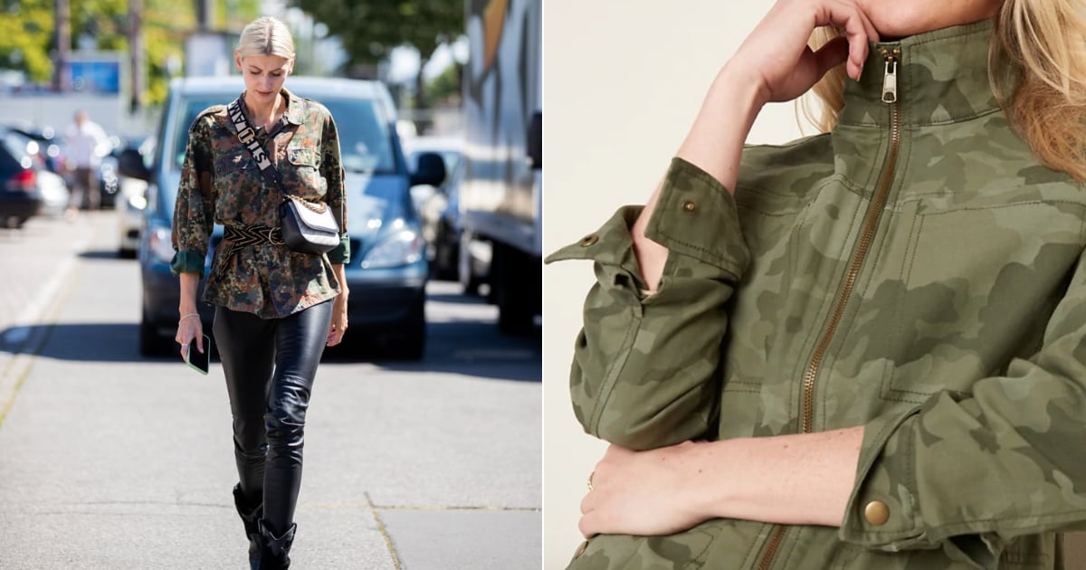 Stylish Camo Jacket For Women at Old Navy